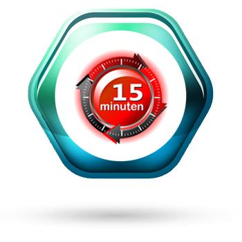 Beto-Fix Plus Quellmörtel härtet in nur 15 Minuten aus